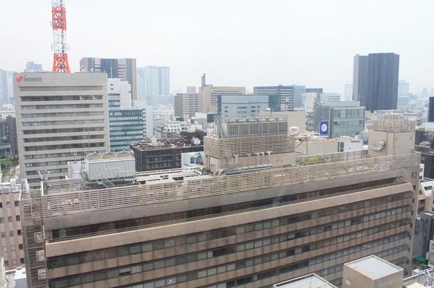 GINZA SIXの屋上階から見た銀座の街並み 13
