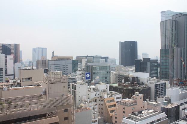 GINZA SIXの屋上階から見た銀座の街並み 14