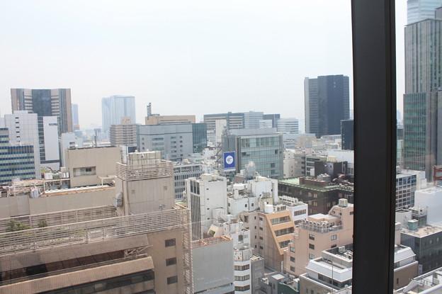 GINZA SIXの屋上階から見た銀座の街並み 15