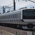 常磐線 E531系3000番台K557編成 363M 普通勝田行