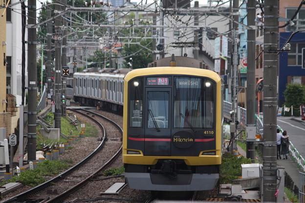 東急東横線 5050系4000番台4110F ヒカリエ号 (1)