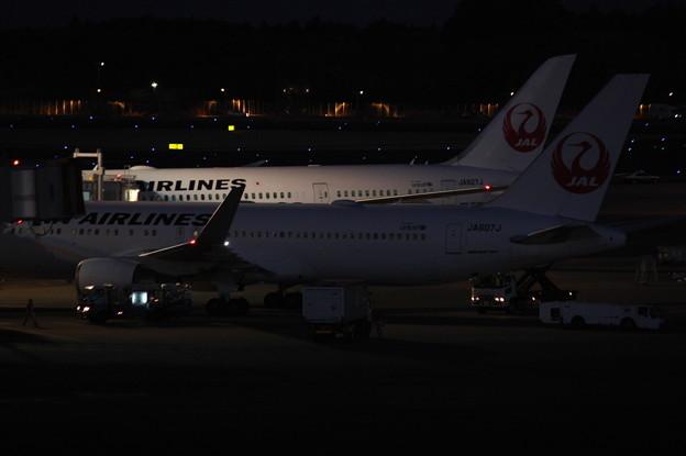 日本航空 JAL ボーイング767-300ER JA607J