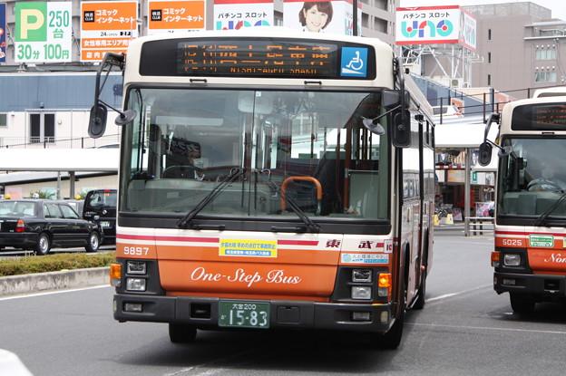 東武バス 9897号車
