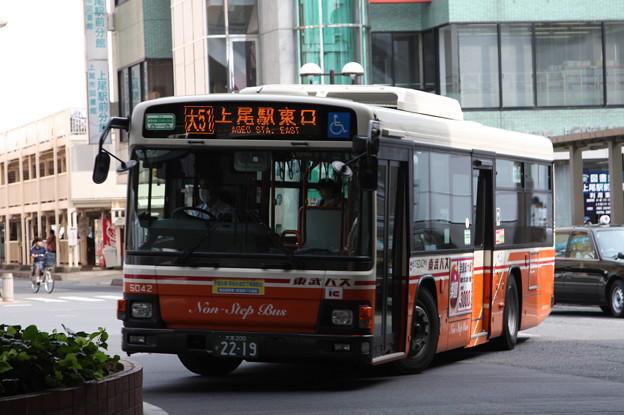 東武バス 5042号車