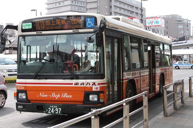 東武バス 5134号車