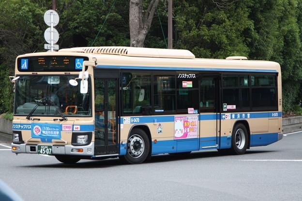 横浜市営バス 新型ブルーリボン 6-3470号車