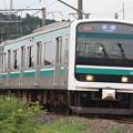 水戸線 E501系K754編成 753M 普通 友部 行 (2)