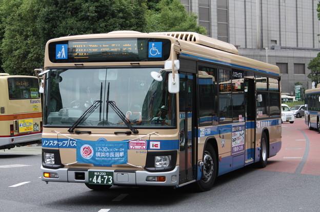 横浜市営バス 新型ブルーリボン 6-3454号車