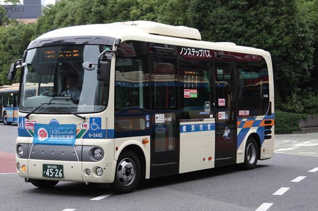 横浜市営バス 6-3492号車