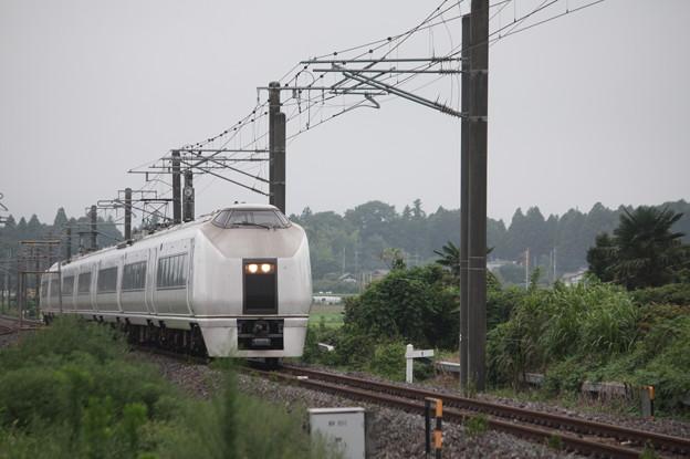 651系K105編成 9401M 急行 ロックインジャパン号 (1)
