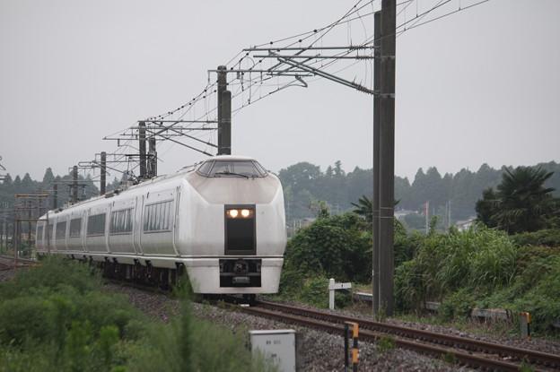651系K105編成 9401M 急行 ロックインジャパン号 (2)