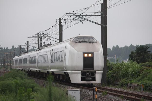 651系K105編成 9401M 急行 ロックインジャパン号 (4)