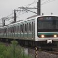 常磐線 E501系K752編成 729M 普通 水戸 行