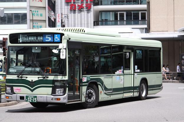 京都市営バス 新型エルガ 3215号車