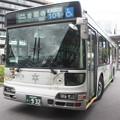 京都市営バス 932号車 101系統洛バス塗装
