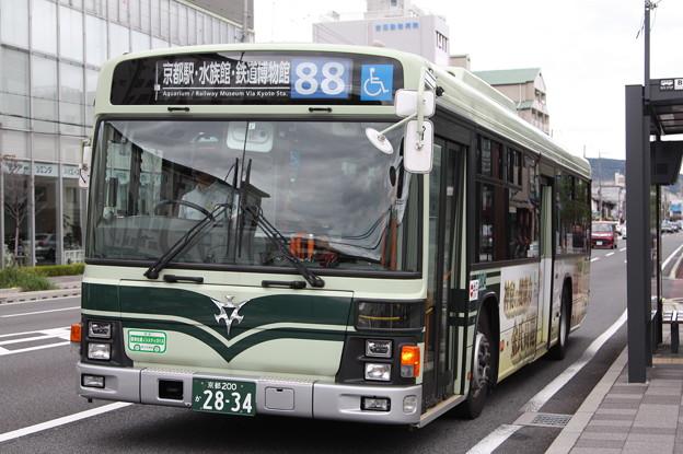 京都市営バス 2834号車