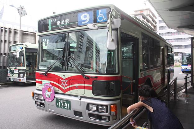 京都市営バス 1391号車