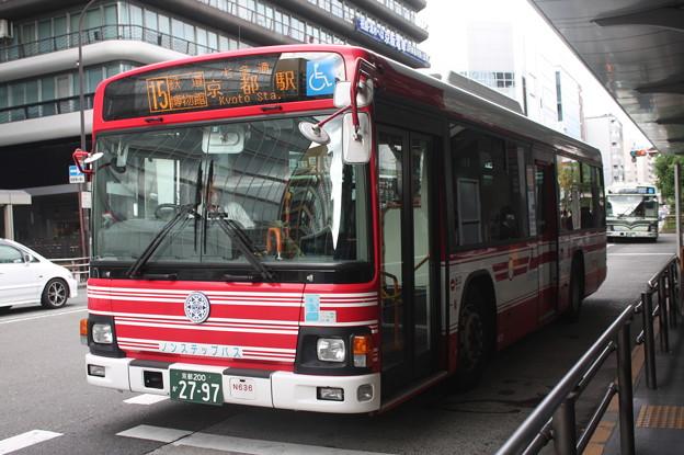 京阪バス N636号車