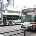 Photos: 京都市営バス3368号車・京都バス119号車