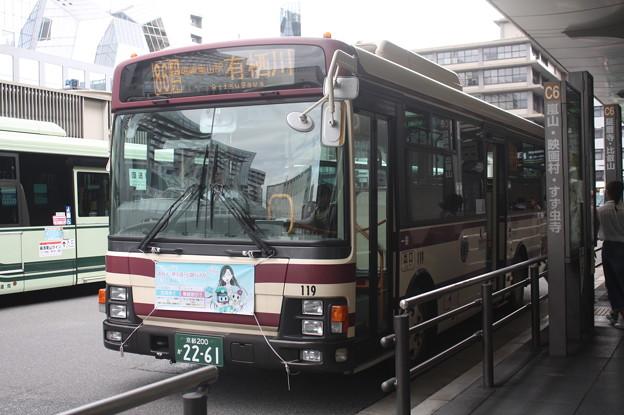 京都バス 119号車