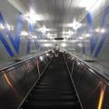 Photos: 住之江公園駅 改札口からニュートラム南港ポートタウン線ホームまでのエスカレーター