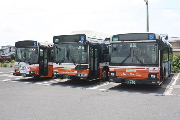 東武バス 9807号車・9888号車・9933号車
