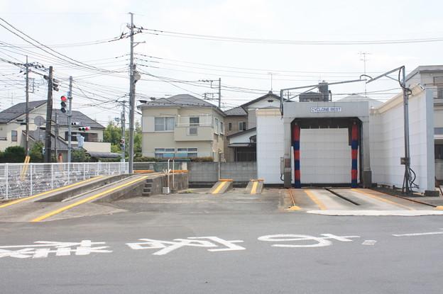 東武バスウエスト上尾営業所 洗車場