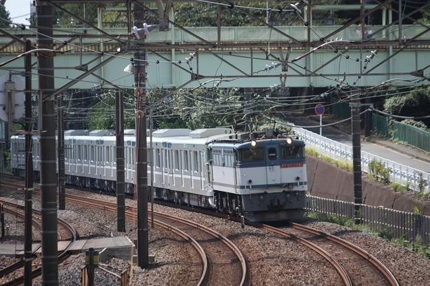 8860レ 東京メトロ13000系甲種輸送 EF65 2081牽引