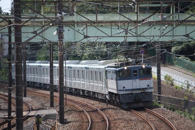 8860レ 東京メトロ13000系甲種輸送 EF65 2081牽引 (3)