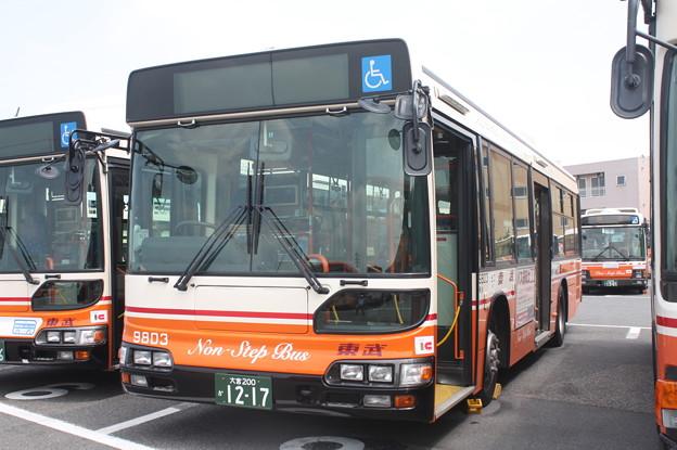 東武バス 9803号車