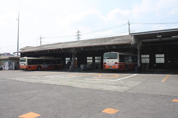 東武バスウエスト大宮営業事務所 整備場
