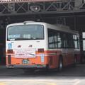 Photos: 東武バスウエスト大宮営業事務所で整備を受ける9853号車