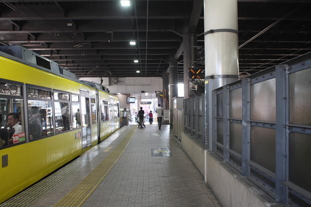 東急世田谷線下高井戸駅ホーム