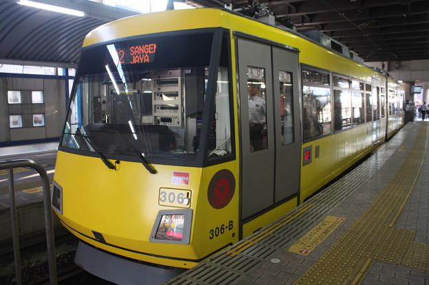 東急世田谷線 300系306F