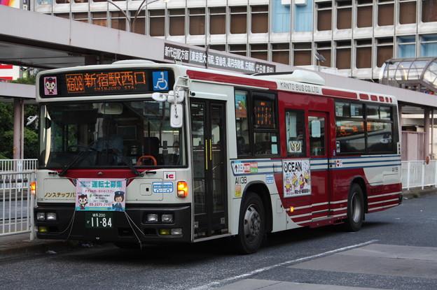関東バス A1138号車