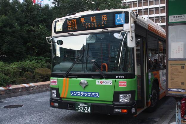 都営バス 新型エルガ T-B729号車
