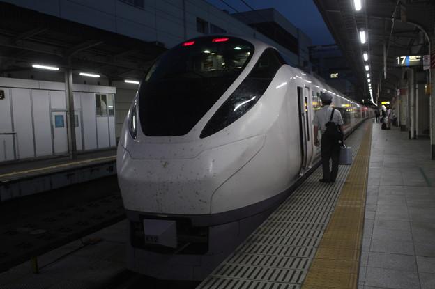 E657系K12編成 「気になるイバラキ」ラッピング 23M 特急 ときわ84号 上野 行