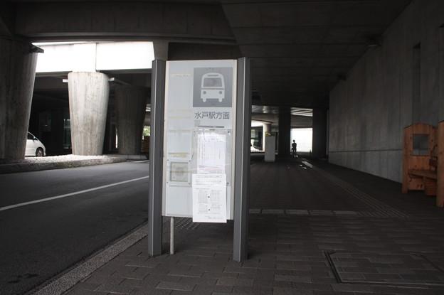 茨城交通 バス停 県庁