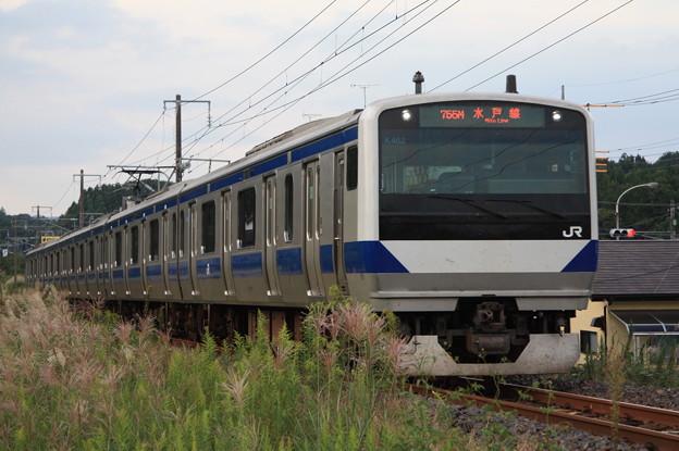水戸線 E531系K462編成 755M 普通 友部 行