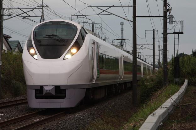 E657系K17編成 「気になるイバラキ」ラッピング 19M 特急 ひたち19号 いわき 行