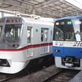 都営5300形5316F・京急2100形2133F「ブルースカイトレイン」