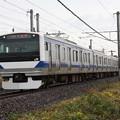 常磐線 E531系K418編成 378M 普通 上野 行