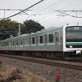 常磐線 E501系K754編成 737M 普通 勝田 行