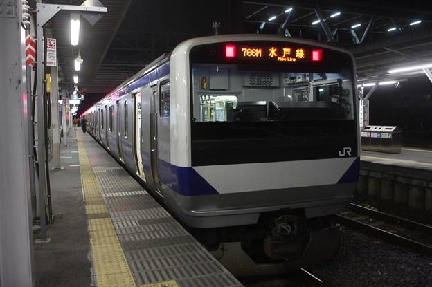 水戸線 E531系K470編成 766M 普通 小山 行