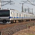 写真: 水戸線 E531系K463編成 725M 普通 勝田 行