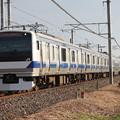 写真: 常磐線 E531系K411編成 1150M 普通 品川 行