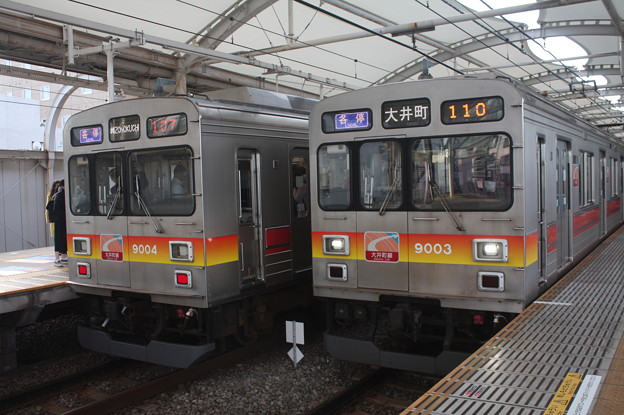 東急大井町線 9000系9004F・9003F