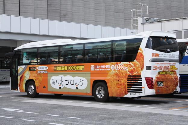 富士急シティバス E4804 後部
