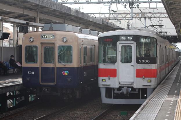 阪神5000系5001F・山陽5000系5006F