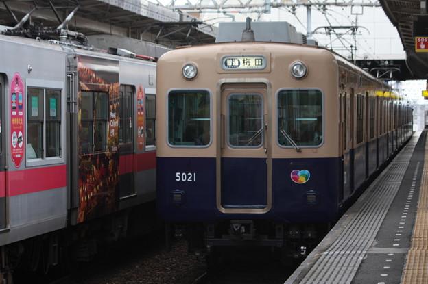 阪神本線 5000系5021F 普通 阪神梅田 行